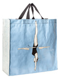 Soft Blue Diver Shopper Bag in Recycled Material
