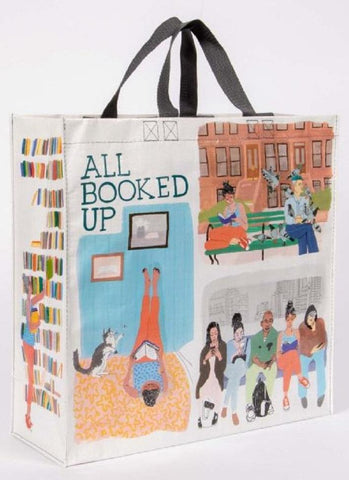 All Booked Up Shopper Bag in Recycled Material