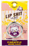 Lip Shit Lip Balm in Pineapple Brown Sugar Beeswax Formula