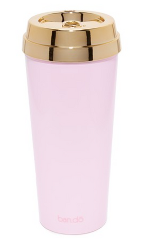 Coffee Is My BFF Pink and Gold Travel Mug – The Bullish Store
