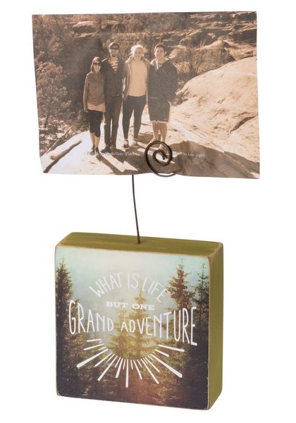 Grand Adventure Wooden Photo Block
