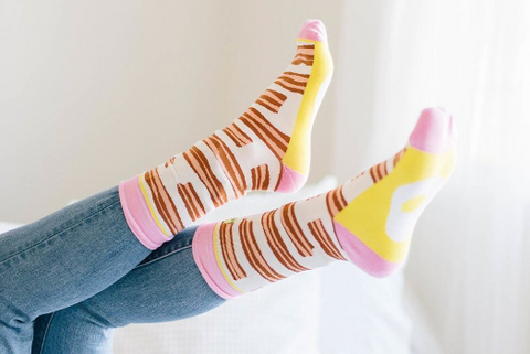 Bacon and Eggs Women's Crew Socks
