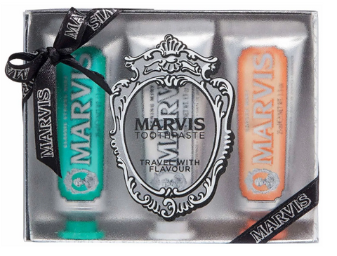 Marvis Unique Flavor Travel Size Toothpaste Gift Set