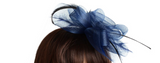 Friend of the Duchess Clip-on Fascinator