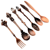 The Queen's Royal Beverage Spoons and Itty-Bitty Fork (2 Color Options)