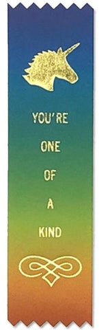 You're One Of A Kind Adulting Award Ribbon on Gift Card