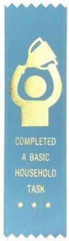 Completed A Basic Household Task Adulting Award Ribbon on Gift Card