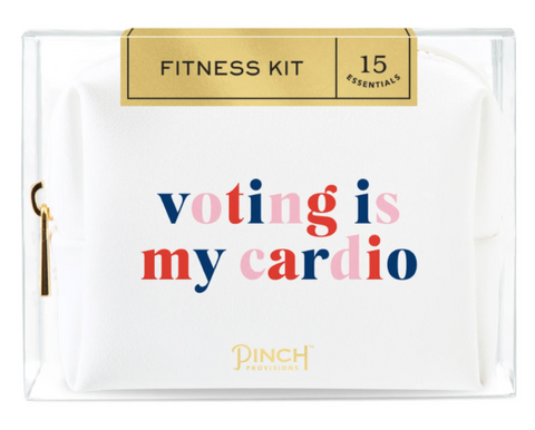 Voting Is My Cardio Fitness Kit