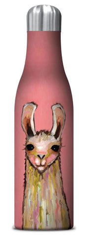 La La La Llama Insulated Stainless Steel Medium Water Bottle
