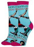 Be Excellent Bill and Ted Women's Crew Socks