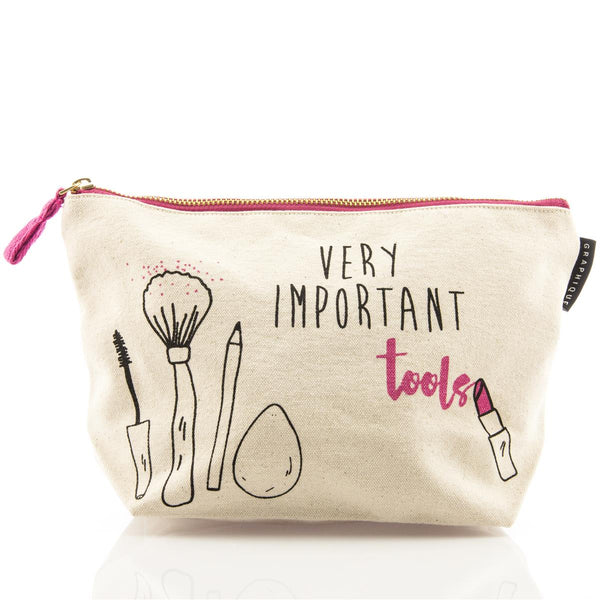 Very Important Tools Medium Makeup Kit Zipper Pouch