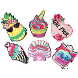 Fancy Perfume Colorful Keyring Cool Small/Mini Zip Coin/Change Purse/Bag/Pouch/Wallet