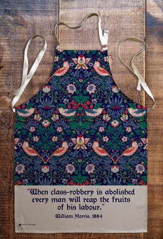 The Strawberry Thief By William Morris Premium Apron