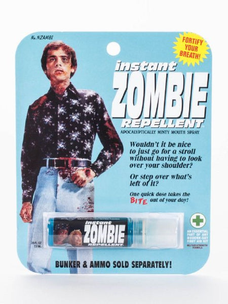 Instant Zombie Repellent Breath Spray