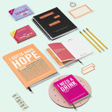 I Gotta Have Hope Inner-Truth Journal in Coral Pink