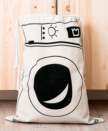 True-to-Life Canvas Laundry Bag