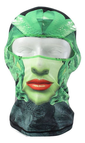 Anti-Street Harassment Medusa Balaclava: Turn Men to Stone