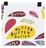 Butter Butter Butter Retro Funny / Cute / Cool Apron with Pockets BBQ / Grill / Cooking Country Novelty Cute Old Fashioned Apron