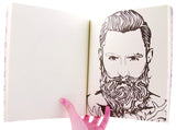 Beard Coloring Book by Meggyn Pomerleau