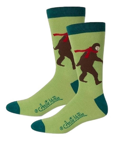 Bigfoot Men's Socks in Green