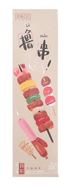 30-Pack of Food on Sticks Bookmarks