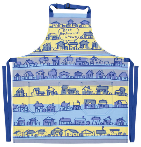 Best Restaurant In Town Apron Retro Funny / Cute / Cool Apron with Pockets BBQ /Grill / Cooking Country Novelty Cute Old Fashioned Apron