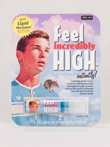Last Call! Feel Incredibly High Breath Spray