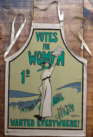 Votes for Women Wanted Everywhere Apron