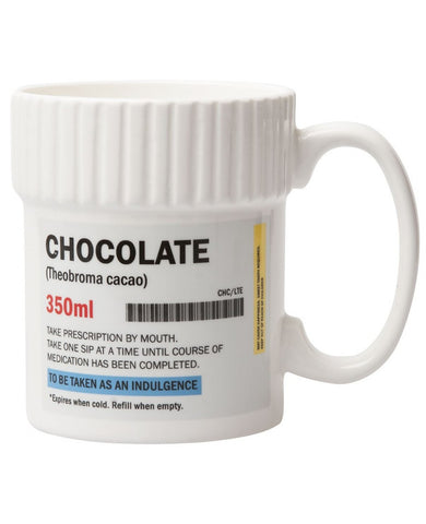 Pill Pot Chocolate Mug in Pill Container Design