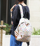 Perfect Confetti Canvas Backpack