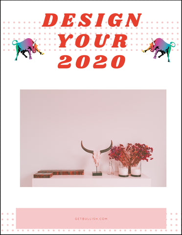 Design Your 2020 Downloadable Workbook (pdf)