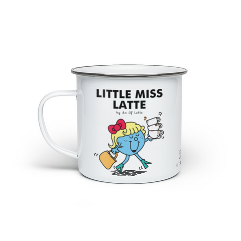 Little Miss Latte - Enamel Mug