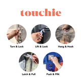 Gems Touchie No Contact Tool | Add to Keyring | Reduce Contact with Contact Points and Shared Surfaces