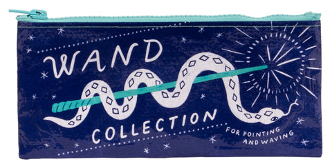 Wand Collection For Pointing and Waving Pencil Case with Snake and Wand Design