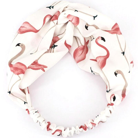 Flamingo Fabric Headband