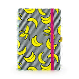 Magenta Banana Soft Cover Notebook
