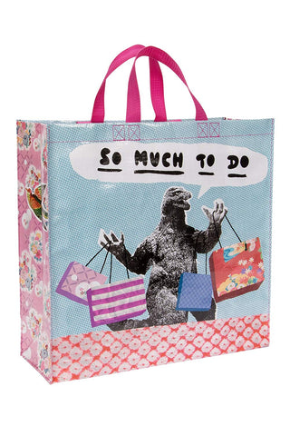 So Much To Do Shopper Bag in Recycled Material