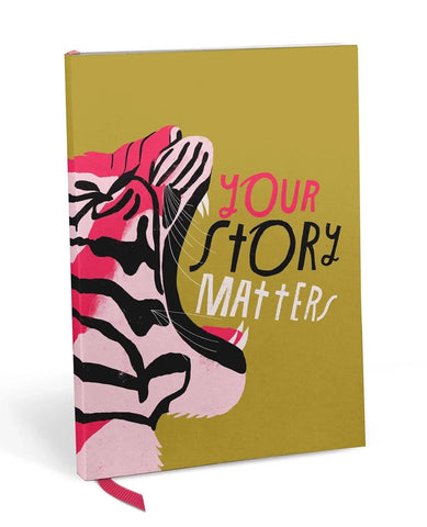 Lisa Congdon Your Story Matters Tiger Journal