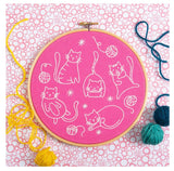 Crafty Cats Embroidery Kit | Made in the UK