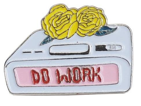 Do Work Dream Machine Enamel Pin