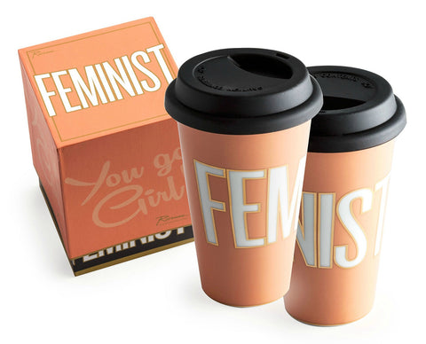 You Go Girl Commuter Mug Feminist