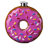 Multicolored Sprinkles Donut Flask