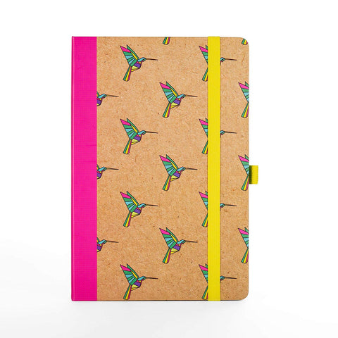 Bird Origami Notebook in Multicolor