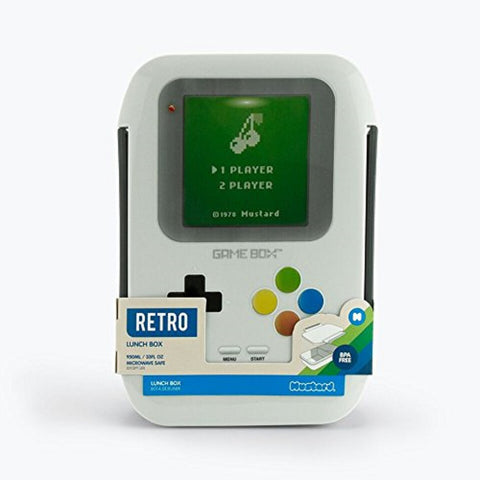 Bento Game Box Lunch Box in Gameboy Design