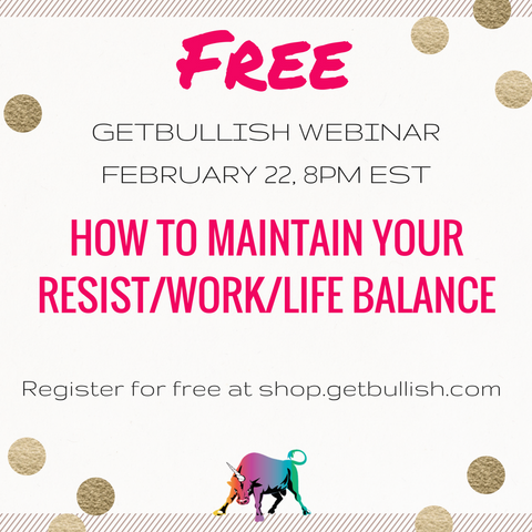 How To Maintain Your Resist/Work/Life Balance Free Webinar