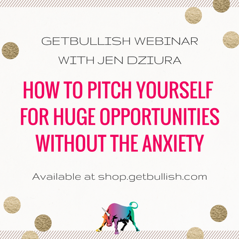 Webinar: How to Pitch Yourself for Huge Opportunities (Recording)