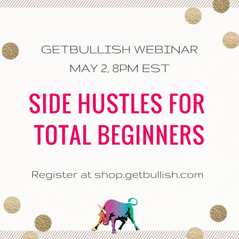 Webinar: Side Hustles for Total Beginners