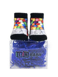 Colorful Gumballs Unisex Baby Socks
