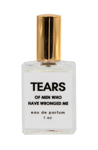 Tears of Men Who Have Wronged Me Perfume in Decorative Glass Spray Bottle