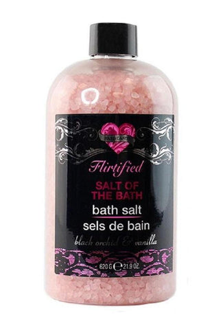 Flirtified Salt of the Bath in Black Orchid and Vanilla Scent by Hard Candy